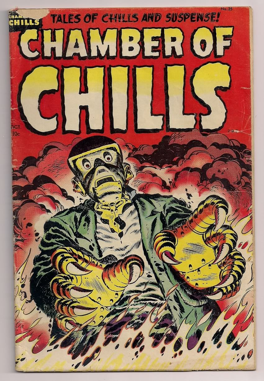 Horror Comics Horror Illustrated 1950 S Horror Comic Book Covers