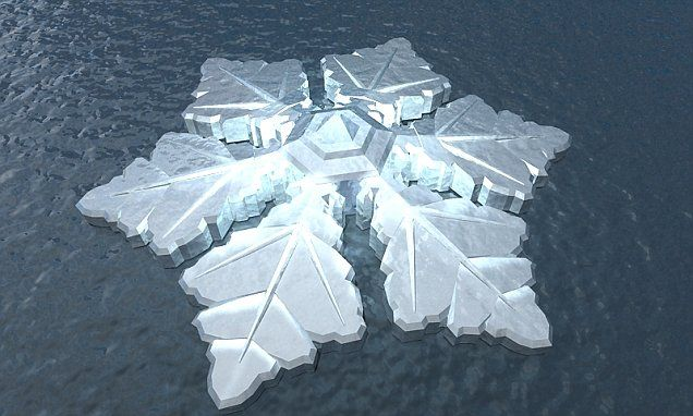 Floating Snowflake Hotel