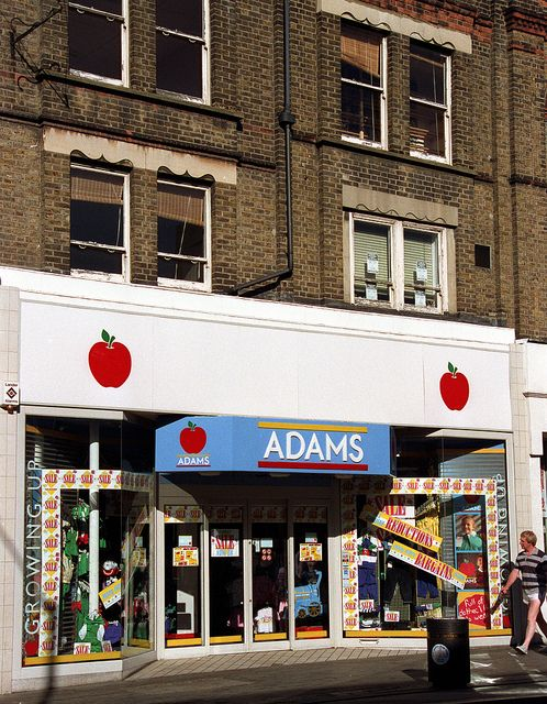 b1287ade2 Croydon North End ADAMS 1989 | In my day | 1980s childhood, 1990s ...