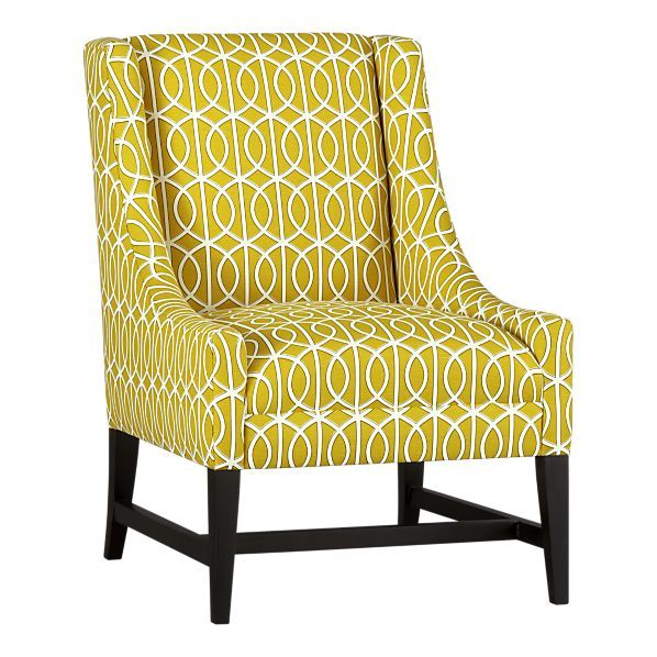 such a great shade of yellow and a fun pattern this