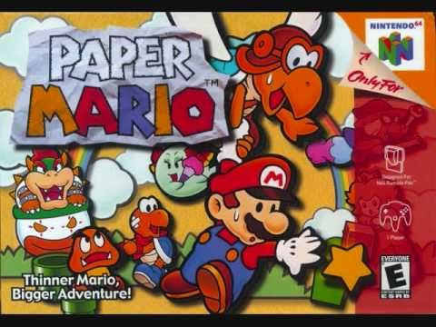 Shiver Mountain song from Paper Mario | Paper mario, Paper mario 64, Mario  nintendo