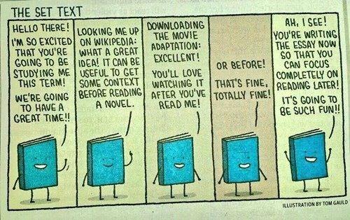 Poor little book.