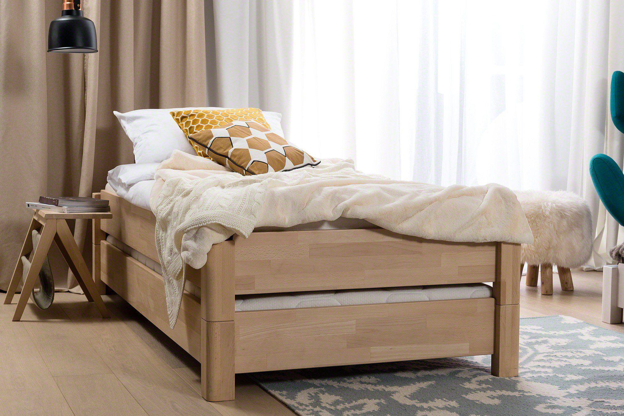 Stapelbett von Dico Buchenholz natur geölt Möbel Letz