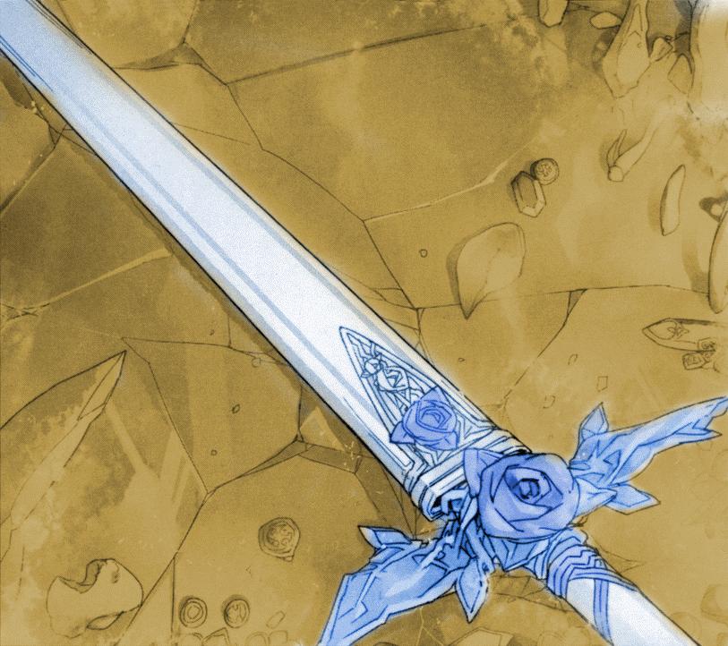 Blue Rose Sword Sword Art Online Alicization Sword Art Online Sword Art Sword Drawing