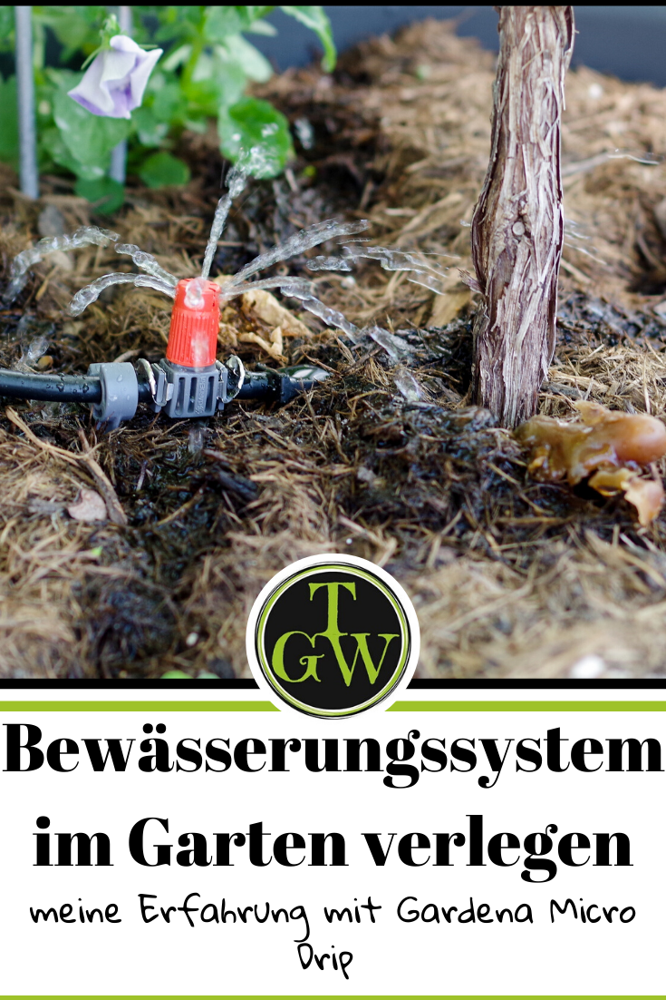 Bewasserungssystem Im Garten Verlegen Erfahrung Mit Gardena Micro Drip Garten Bewasserungssystem Bewasserung Garten Bewasserungsanlage Garten