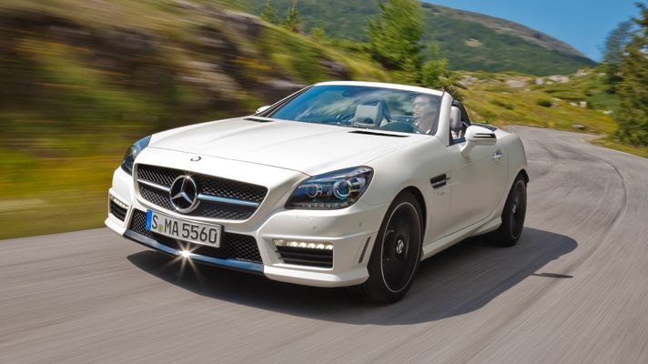 Mercedes Benz Slk 55 Amg Would Like This But In Black Please