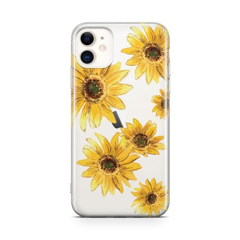 Bright Yellow Sunflowers Case