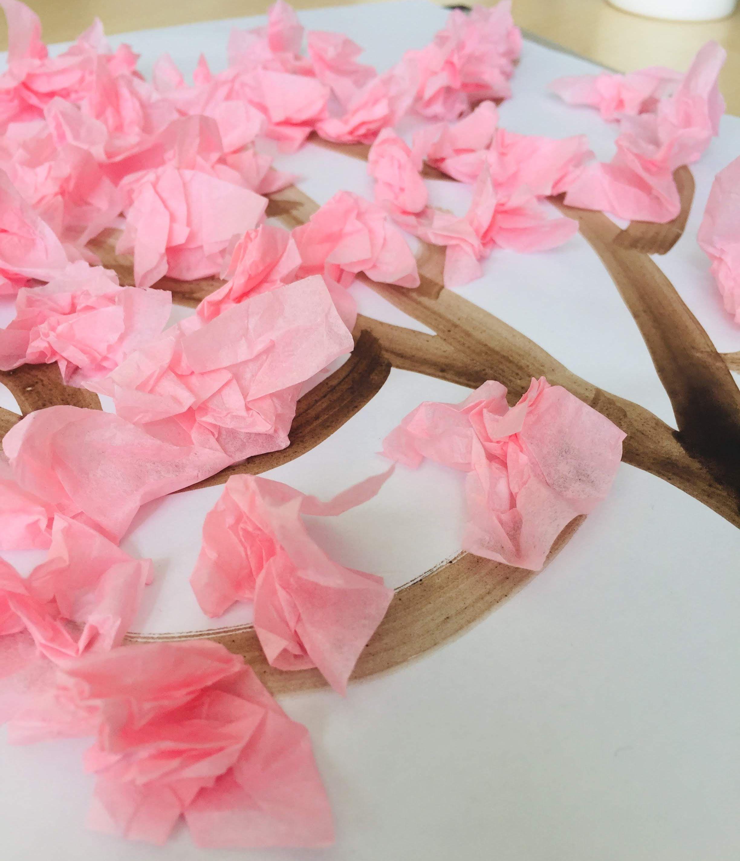 Cherry Blossom Tree In