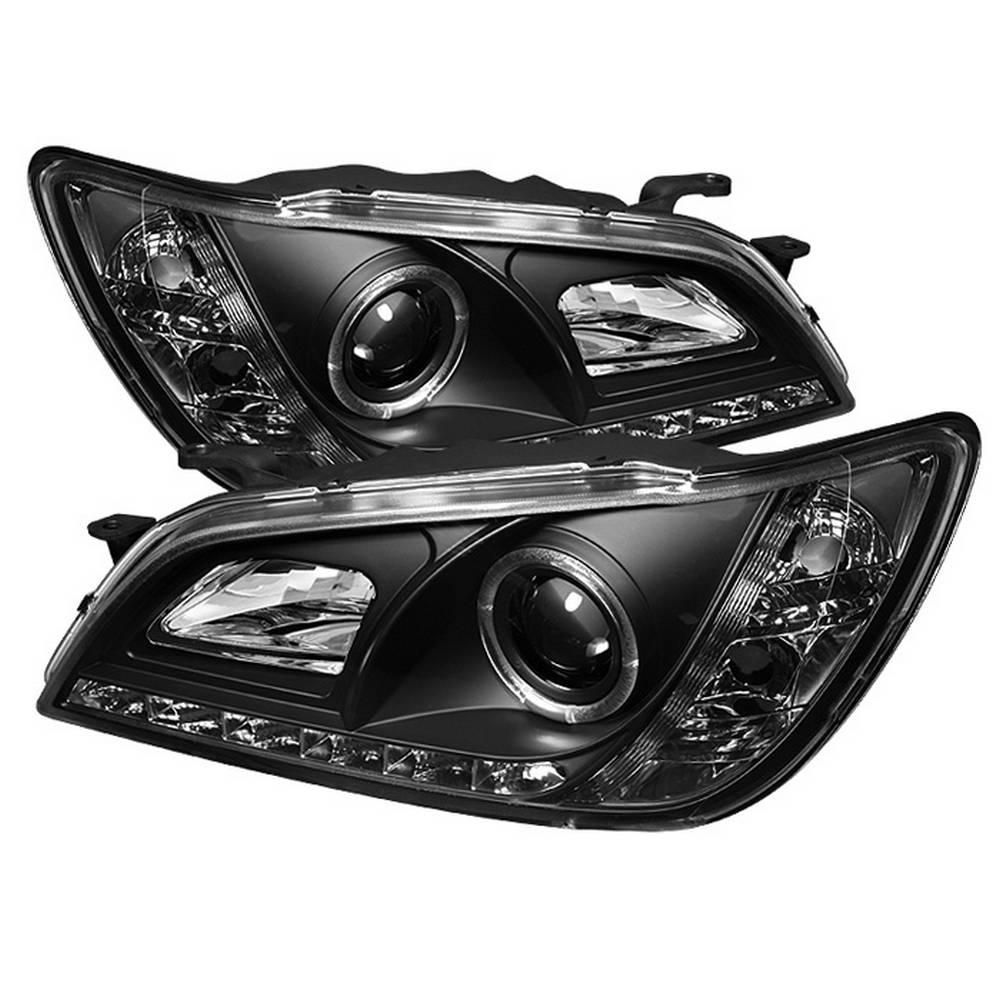 Spyder Auto Lexus IS300 01-05 Projector Headlights - Xenon/HID Model Only - LED Halo - DRL - Black-5029898 - The Home Depot