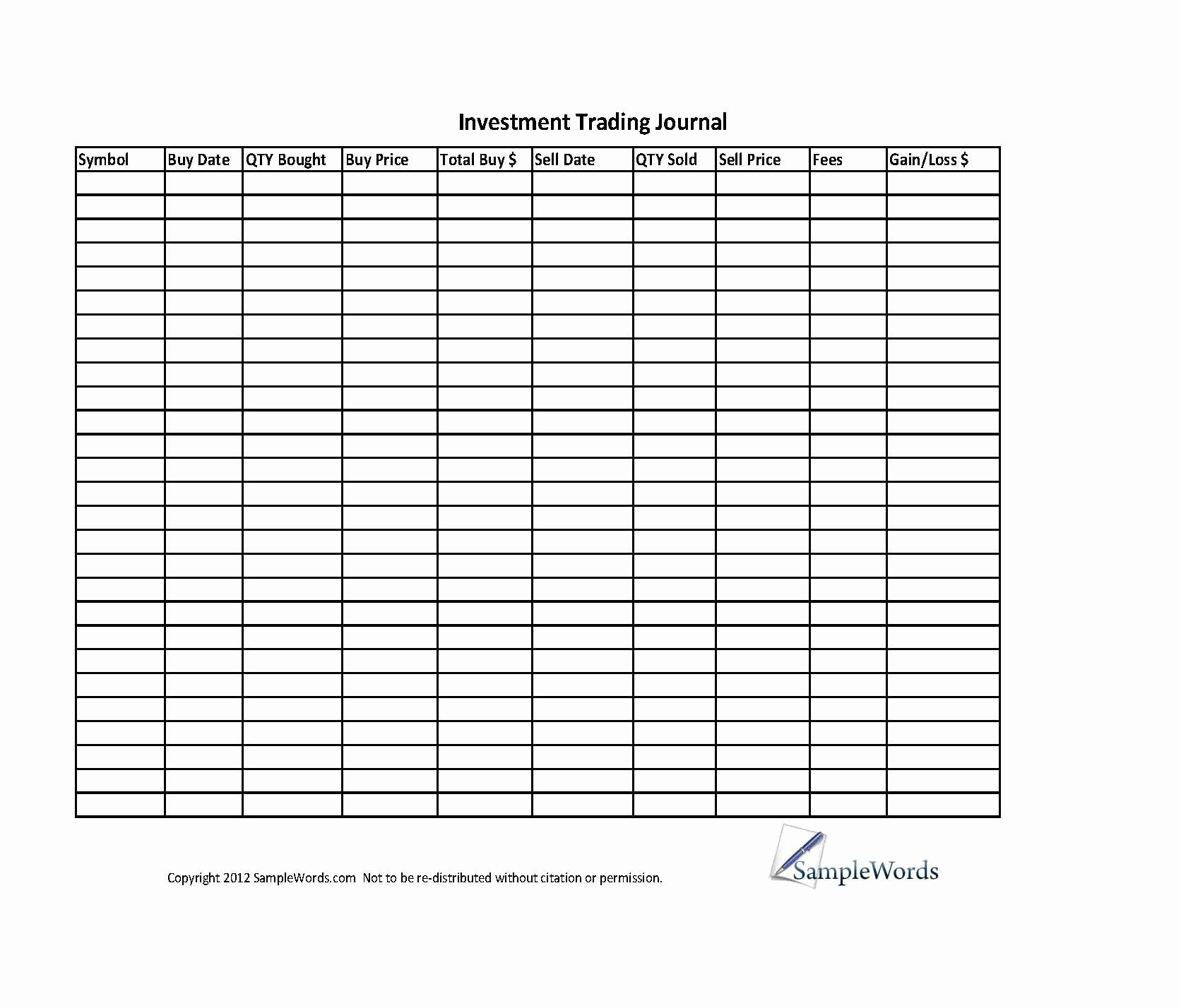 30 forex trading plan template in 2020 investing stock