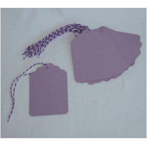 Geschenkanhänger Lavender