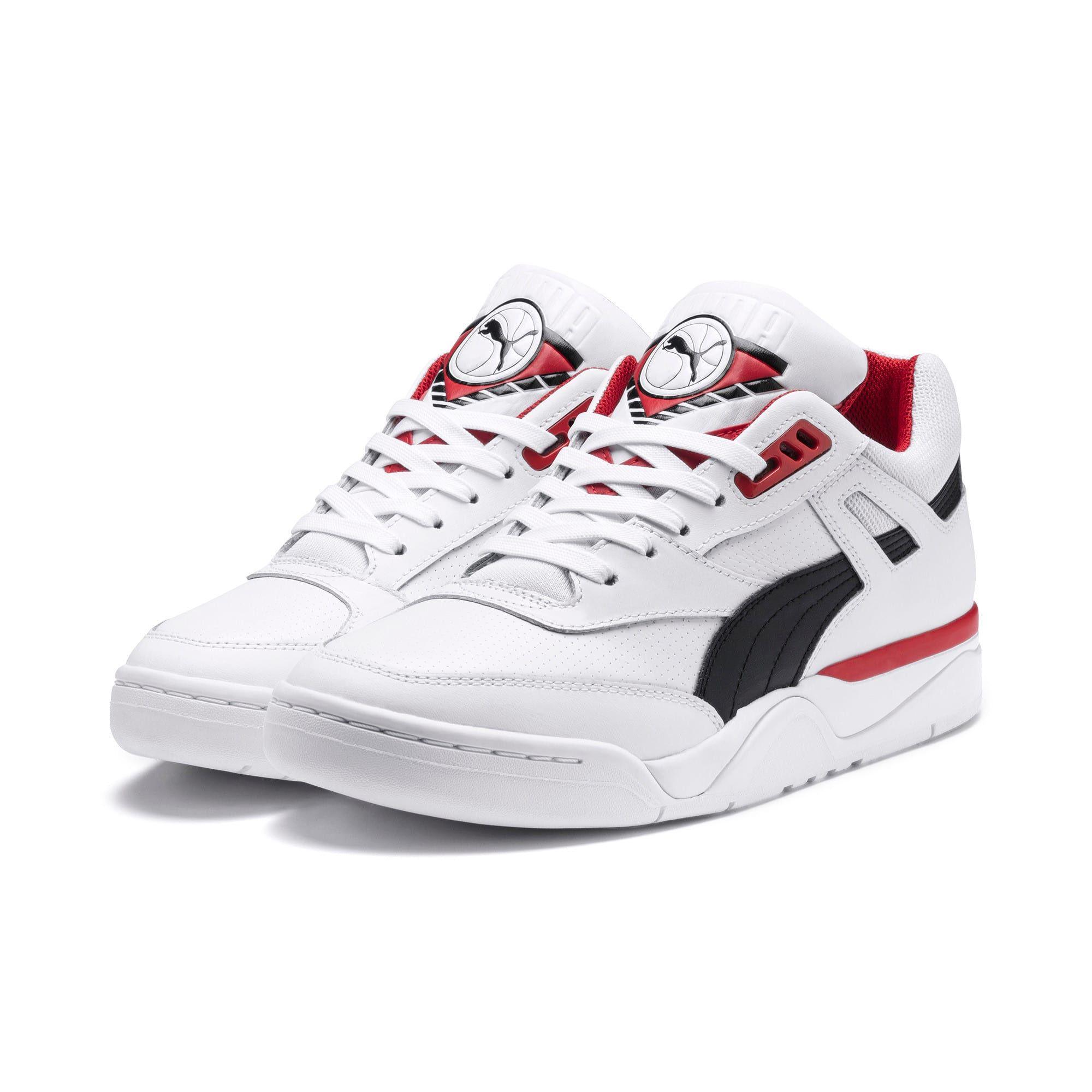 chaussure puma noir et rouge