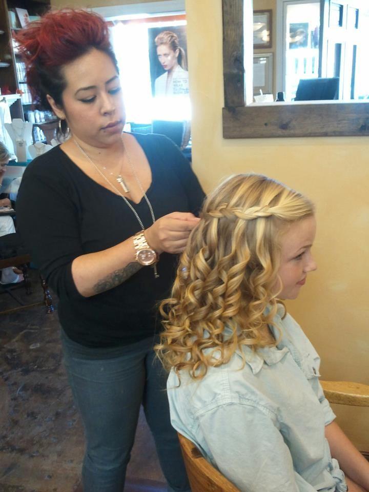Middle School Graduation Hair Hair Styles Pinterest