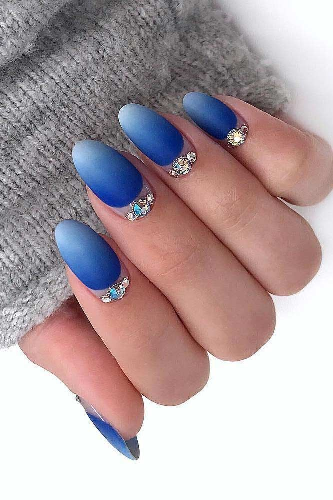 36 Glam Ideas For Ombre Nails Plus Tutorial In 2018 Nail Design