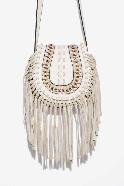 Aimee Kestenberg Genny Leather Crossbody Bag - Bags + Backpacks