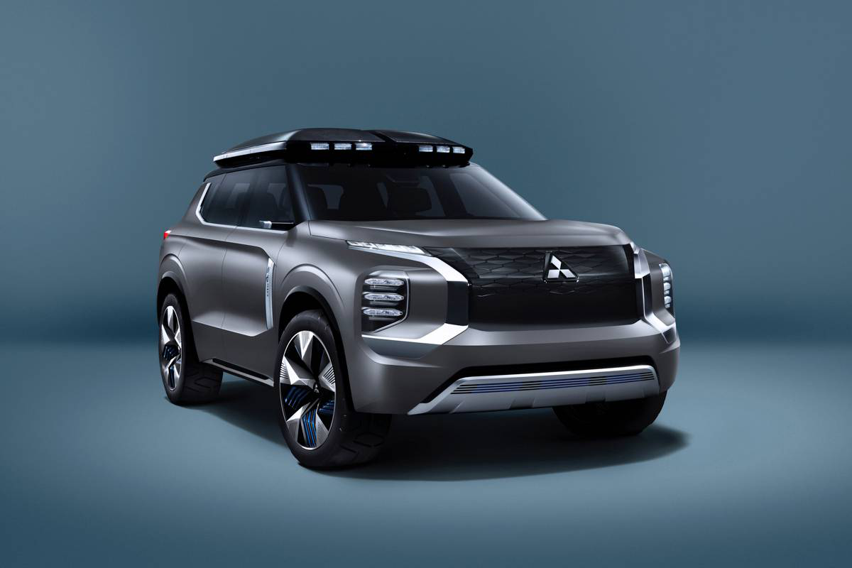 Mitsubishi E Yi Concept Is The Engelberg Tourer Reloaded For Asian Debut Carmojo The Name And T Mitsubishi Mitsubishi Suv Car Navigation System