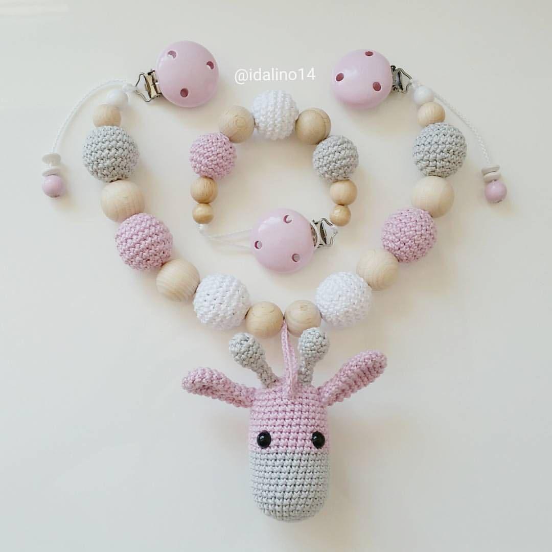 Kinderwagenkette handmade neu Puppen & Zubehör Babypuppen & Zubehör
