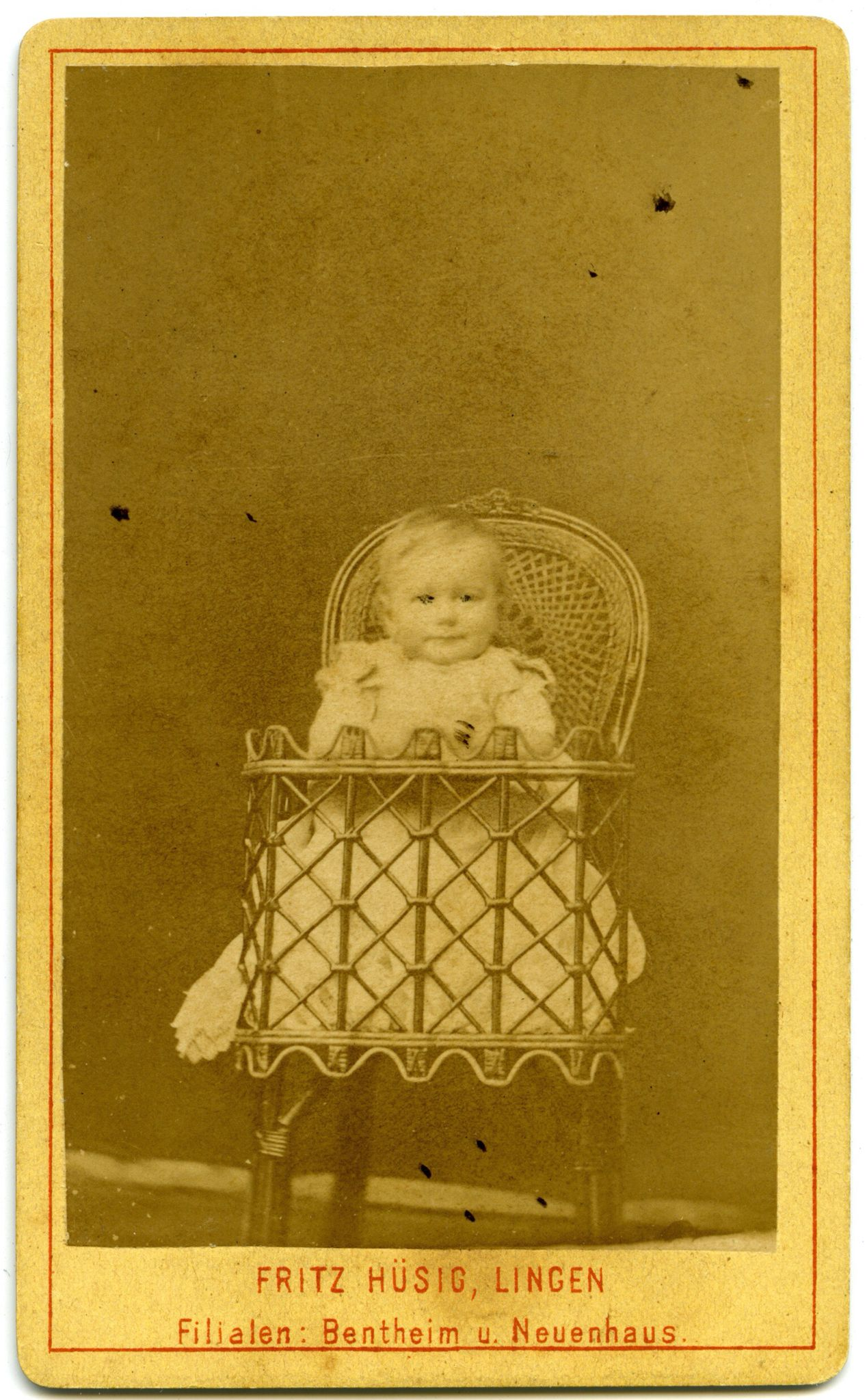 The Carte De Visite Was A Photograph Mounted To Card Stock They Were Invented