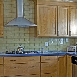 Subway Tiles For Kitchen Backsplash In Beige Color Dune W Slate