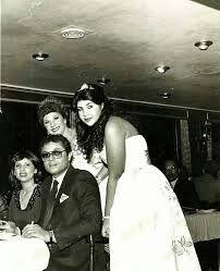 محمود عبد العزيز مع زوجته السابقة واحلام شلبى وزوجته الحالية بوسى شلبى Arab Actress Actors Actresses