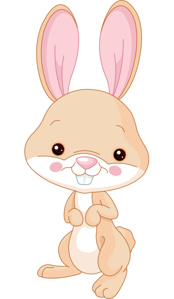 This Bunny Might Suit A Myriad Of Messages You Care To Send On Facebook Cartoon Bunny Bunny Images Animal Icon