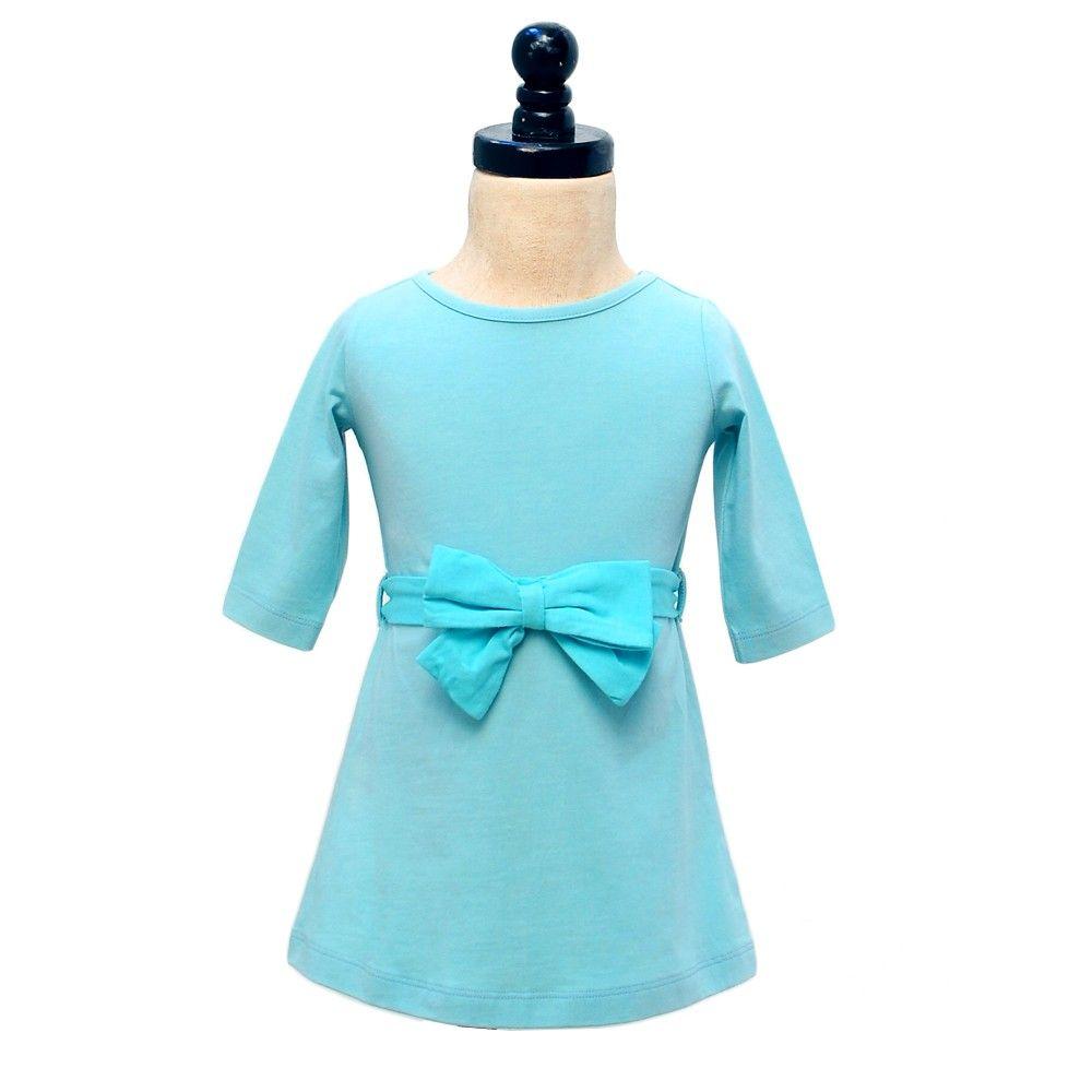 LITTLE BOW PEEP DRESS - BLUEBELL - Little Bow Peep Dresses  http://www.monicaandandy.com/little-bow-peep-dresses/little-bow-peep-dress-bluebell.html