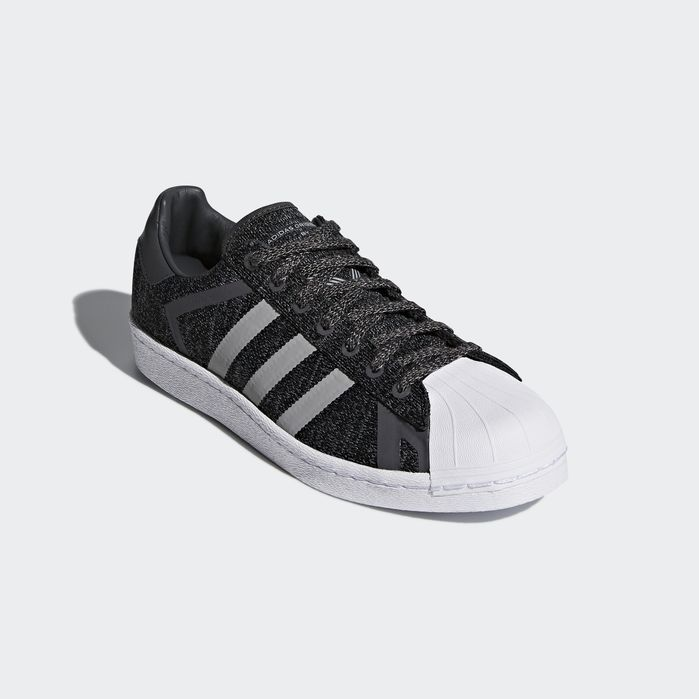 Adidas Superstar White Mountaineering Shoes Womens Grey