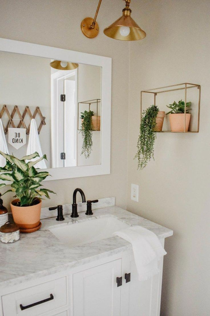 Photo of Modern Boho Bathroom Remodel – House On Longwood Lane