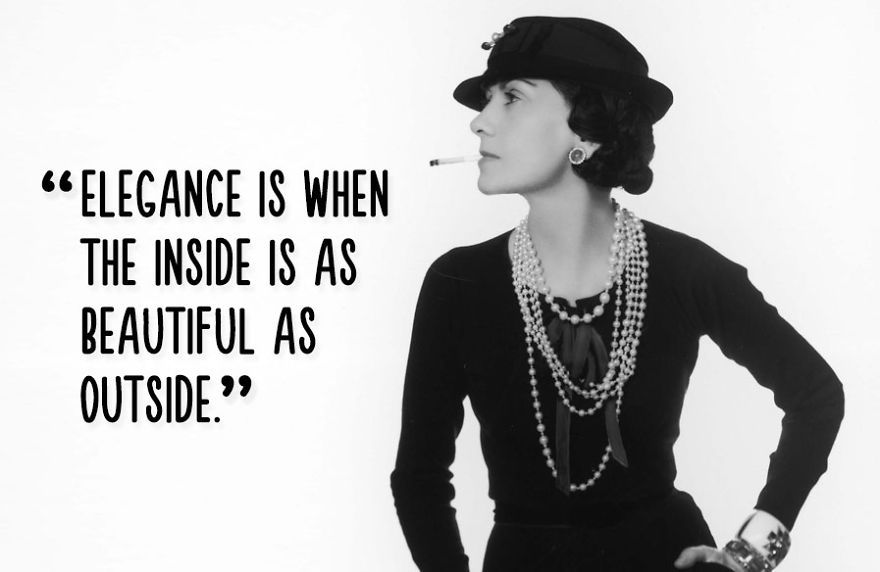 Coco Chanel Powerful Quotes Inspirational Quotes For Women Woman Quotes