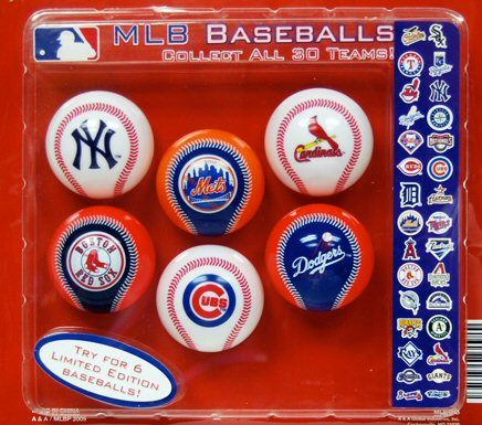 2 Mlb Major League Baseball Catch The Fever Collection Has All 30 Teams Plus 6 Limited Edition Baseballs Major League Baseball Mlb Baseball Major League