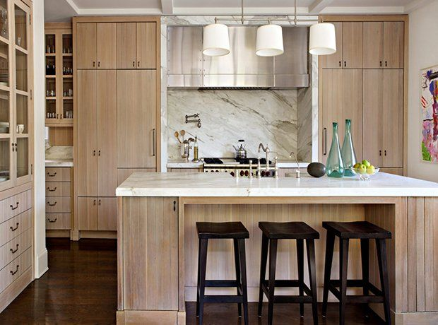 Hot Look 40 Light Wood Kitchens We Love Beadboard Kitchen White Oak Kitchen Wood Kitchen Cabinets