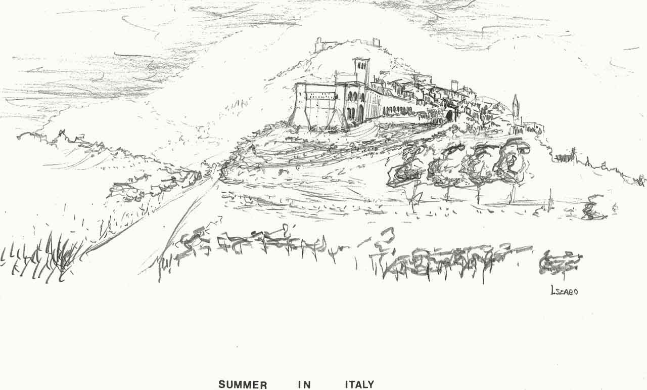 Assisi italy travel sketches assisi italy italy