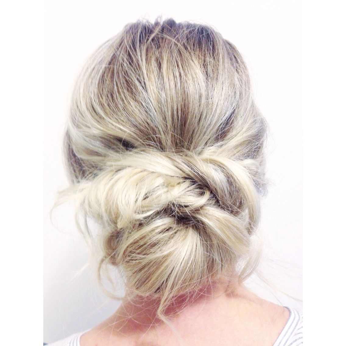 Soft Bridal Wedding hair updo by Kayla Marshall Wedding Hair | |Hair ...