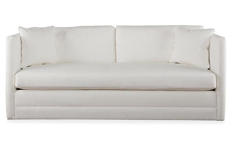 Landry Sofa White Crypton Miles Talbott White Sofas Sofa