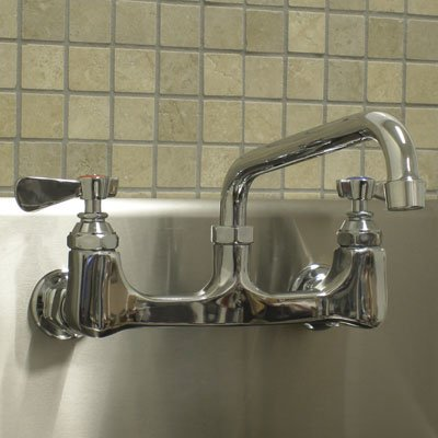 A Line By Advance Tabco Equip Wall Mounted Utility Sink Faucet
