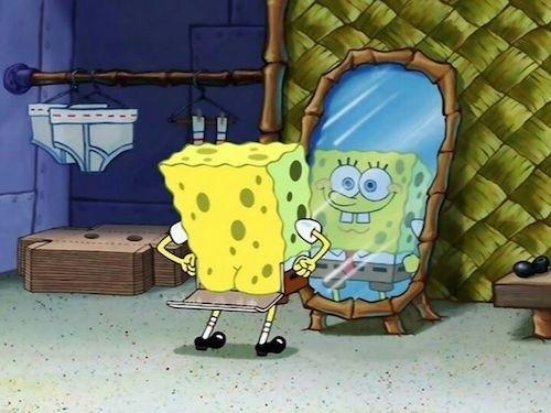 SpongeBob's Hidden Door Butt: