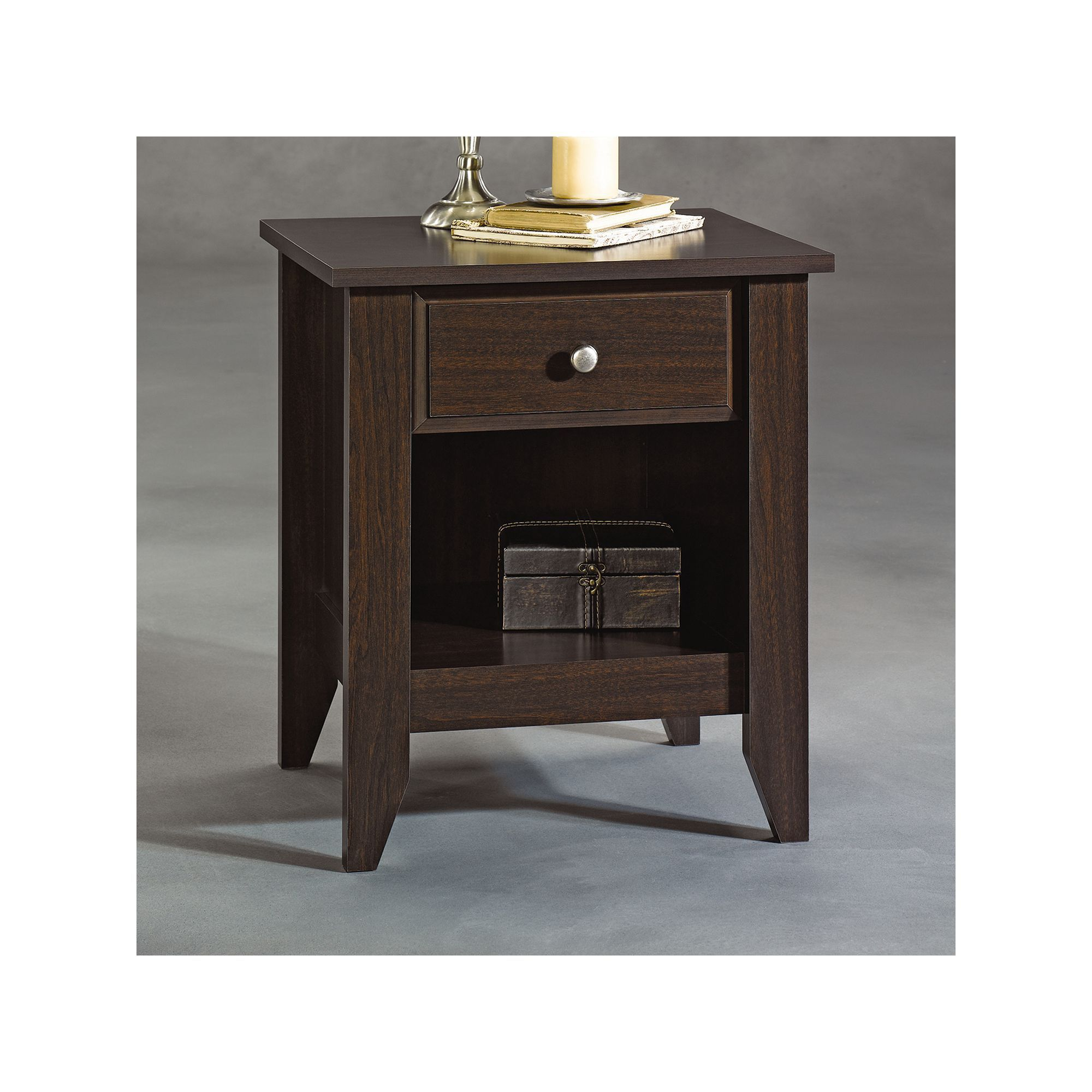 Sauder shoal creek nightstand white nightstands and products