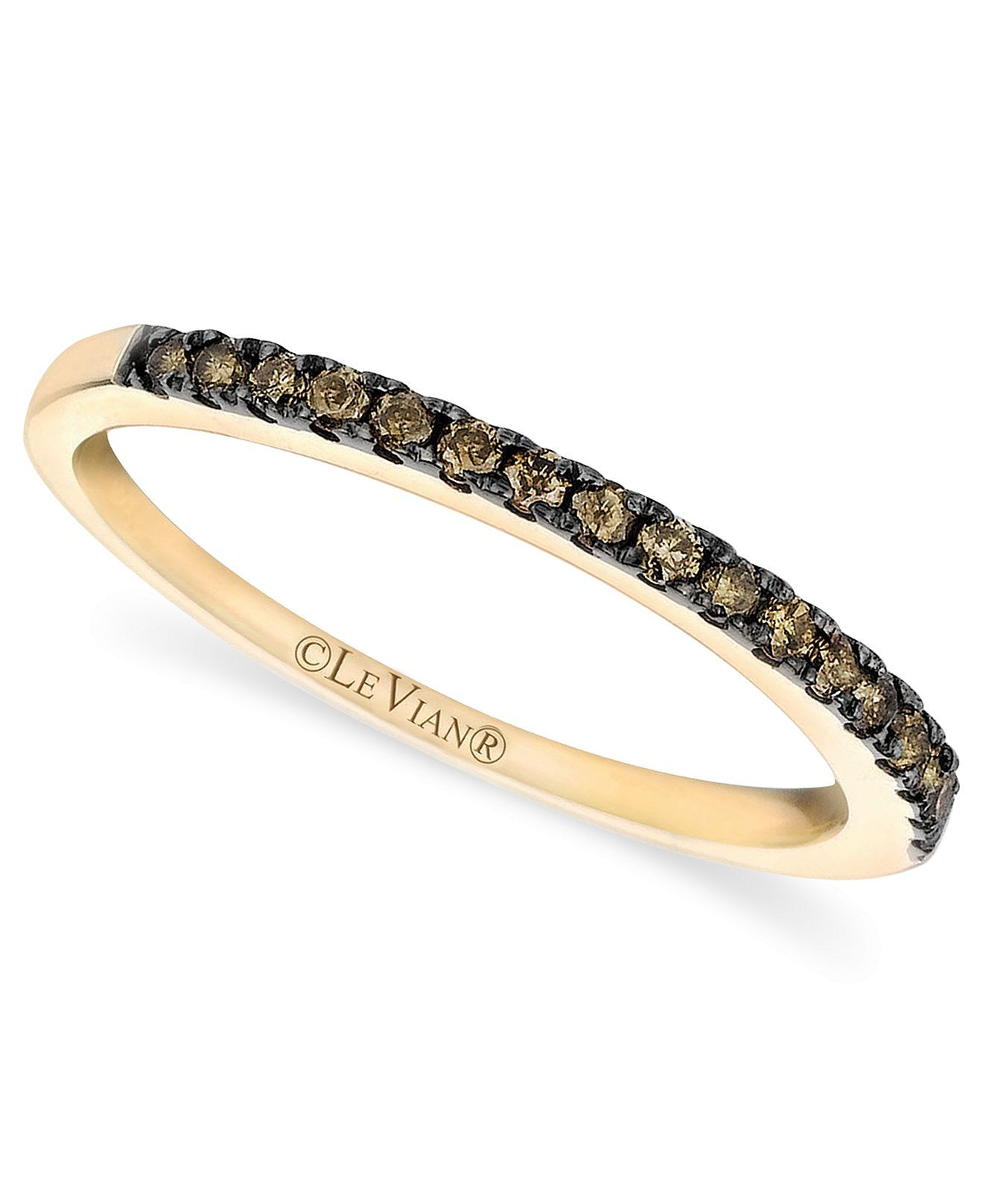band wedding cttw chocolate jared le intended levian diamond vian rings gold diamonds for mens engagement k bands