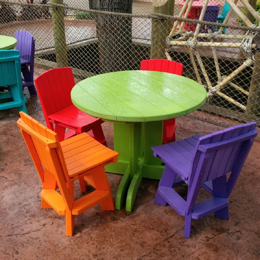 Recycled Plastic Used To Create Beautiful Tables And Chairs Perfect For Taking A Much Neede Recycled Plastic Furniture Recycled Plastic Outdoor Furniture Sets