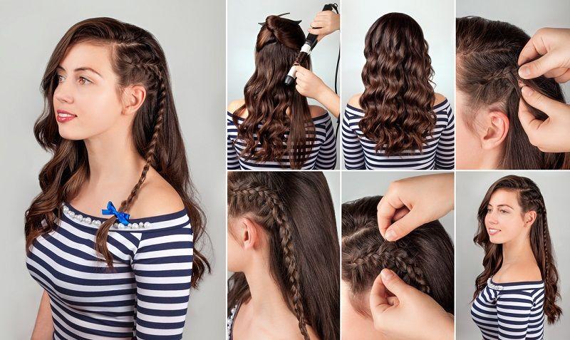 Easy Hairstyles Panosundaki Pin