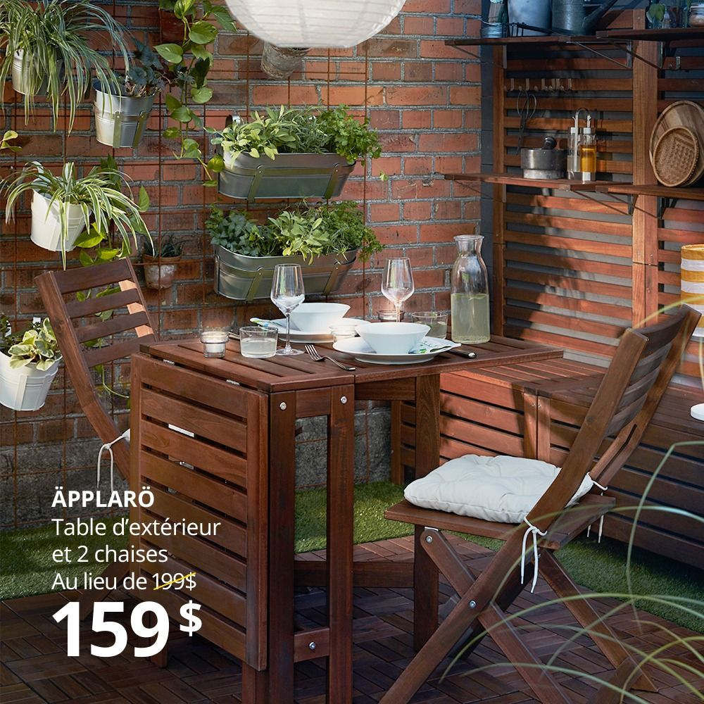 Up To 20 Off Outdoor Dining Furniture In 2020 Used Outdoor Furniture Small Balcony Decor Ikea Applaro