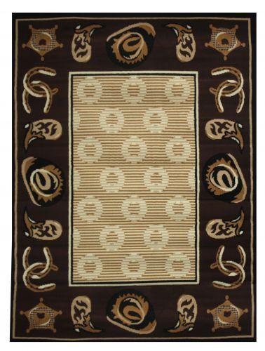 Large Western Style Area Rug Products Area Rugs Rugs Style