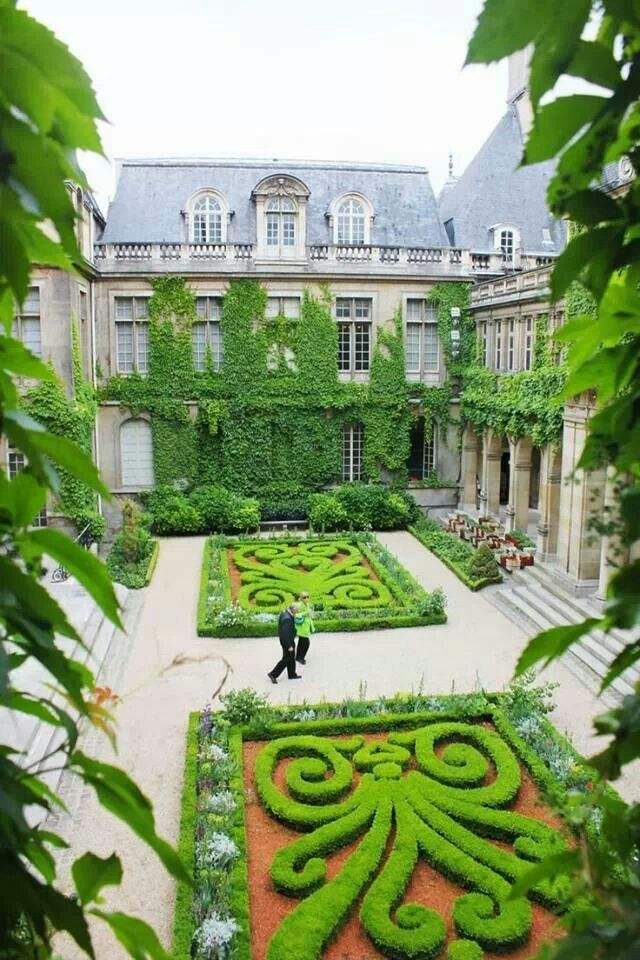 Carnavalet museum, Paris...one of the must see locations in the Marais!