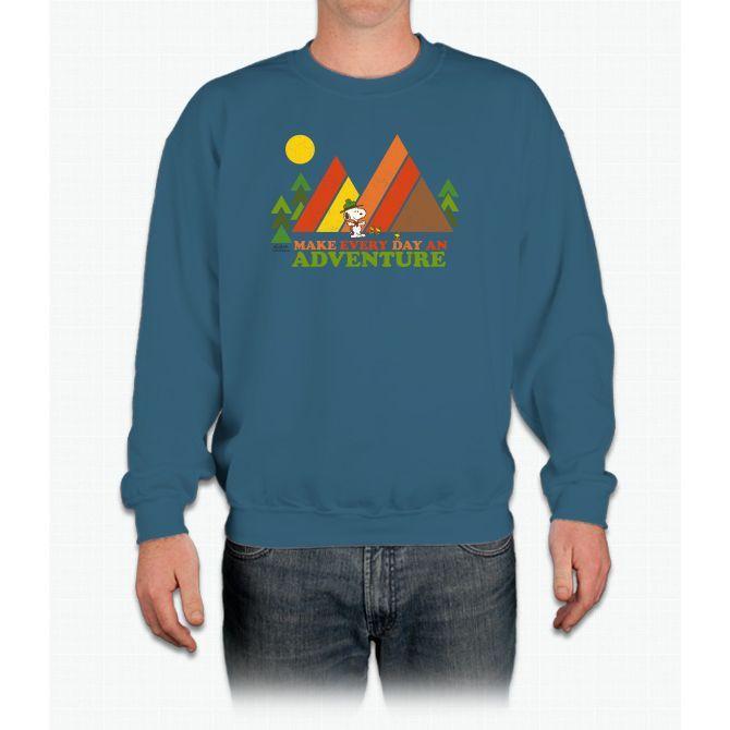 Snoopy-make Every Day An Adv Crewneck Sweatshirt