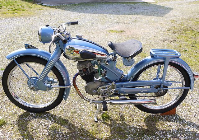 Nsu Fox Classic Motorcycles Vintage Motorcycles Classic Bikes