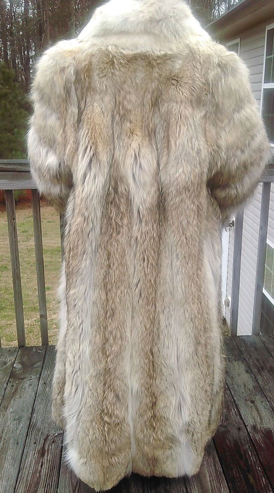 Price Lowered...AND A BUY NOW!!!WOMEN'S FULL LENGTH FUR CANADIAN ...