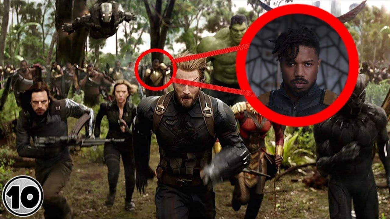 Top 10 Easter Eggs You Missed In The Avengers Infi