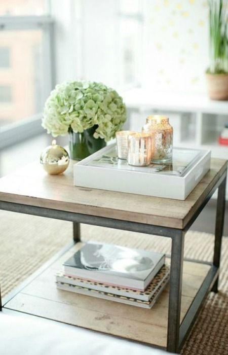 Bandeja como centro de mesa bandejas centros de mesa y - Bandejas decoracion salon ...