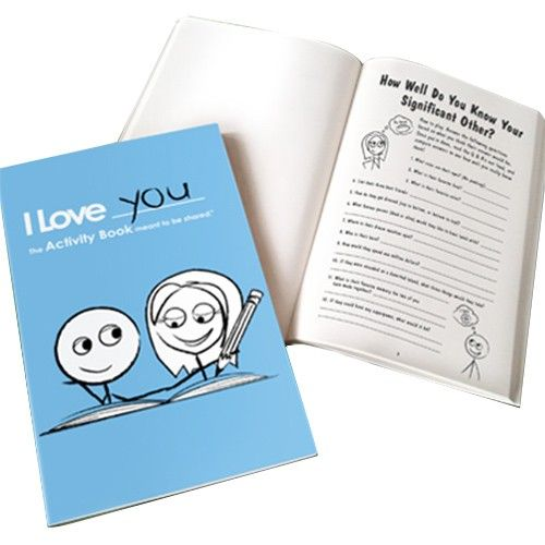 The activity book for couples gift ideasto make or buy pinterest the activity book for couples sciox Image collections