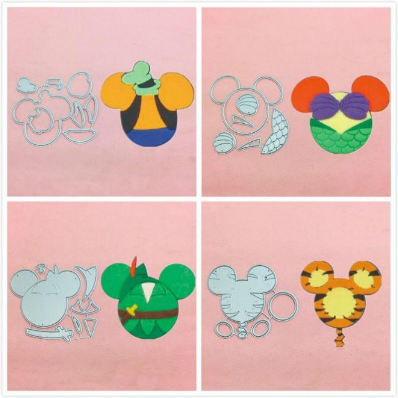 Disney Tigger Metal Cutting Dies Scrapbooking paper album Card Embossing Diy